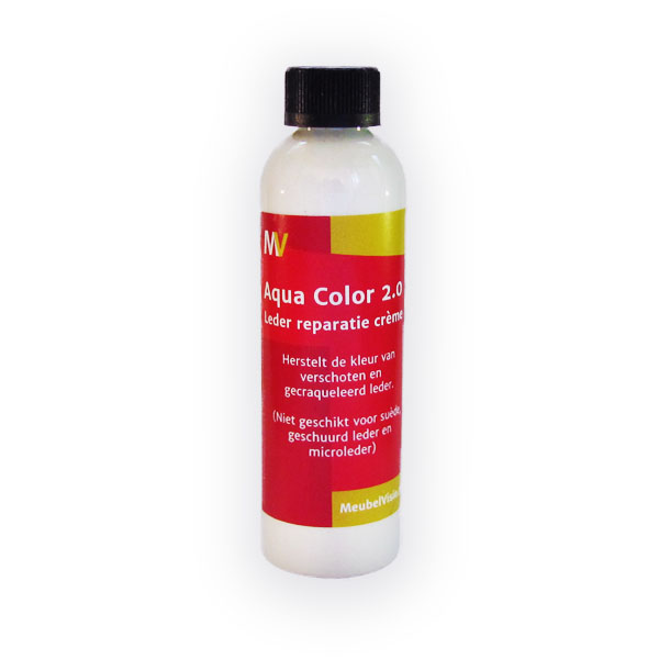 Creme Leren Bankstel.Aquacolor 2 0 250ml