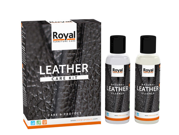Onderhoud Wit Leren Bank.Leather Protection Maxi Set 2x250 Ml