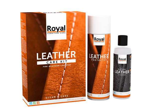 Leren Bank Nubuck.Leather Care Kit Brushed Leather