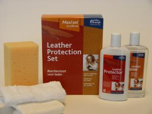 Leather Protection Maxi Set 2x250 Ml Leer Onderhoud