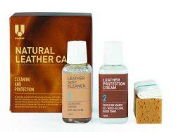U Natural Leather Care kit geschikt voor open leersoorten