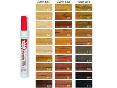 Bijwerk stift hout kleurentabel | Snel geleverd